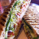 The Grilled Vegetable Panini is not only pretty to look at - it is DELICIOUS to eat!